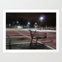 Late Night Shopping Art Print