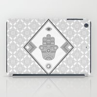 A Blessing (Glitter Grey) iPad Case