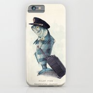 iPhone & iPod Case featuring The Pilot by Eric Fan
