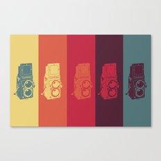Camera. Canvas Print