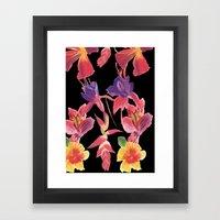 Tropical Print Framed Art Print