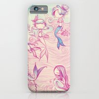 iPhone & iPod Case featuring Mermaids by malipi