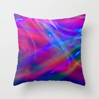 Colour Abstract Throw Pillow