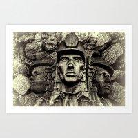We Mined For Coal Art Print