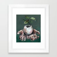 Immaturity Framed Art Print