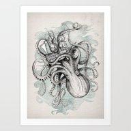 Art Print featuring The Baltic Sea by David Fleck