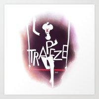 Circus - Trapeze Art Print