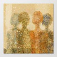 Four Figures Canvas Print