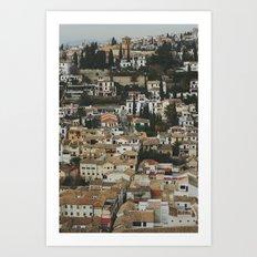 Andalucía Art Print