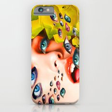 What You looking at? (collage) iPhone 6 Slim Case