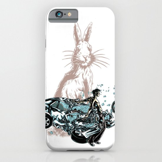 Rabbit In Your Headlights iPhone & iPod Case