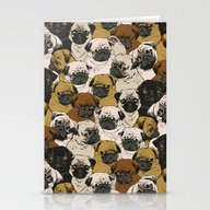 Social Pugz Stationery Cards