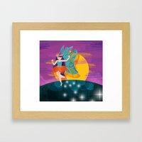 My first fairy  Framed Art Print