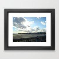Perfect Beach Day Framed Art Print