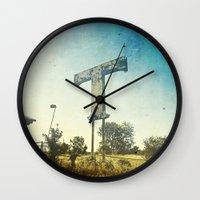 Texas T Wall Clock