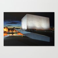 On The Roof Canvas Print