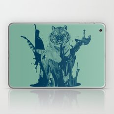 Paint Tiger Laptop & iPad Skin
