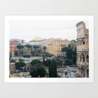 My Rome Art Print