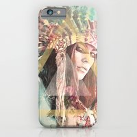 iPhone Cases featuring IND Girl by Nechifor Ionut
