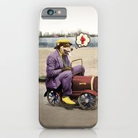 iPhone & iPod Case featuring Barkin' Down the Highway! by Peter Gross