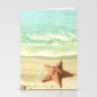 VINTAGE STARFISH Stationery Cards