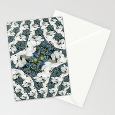 Hydrangeas - White & Blue Floral Stationery Cards