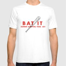 Bat it - Zombie Survival Tools Mens Fitted Tee White SMALL