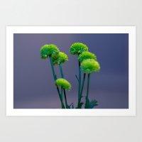 Something Green_01 Art Print