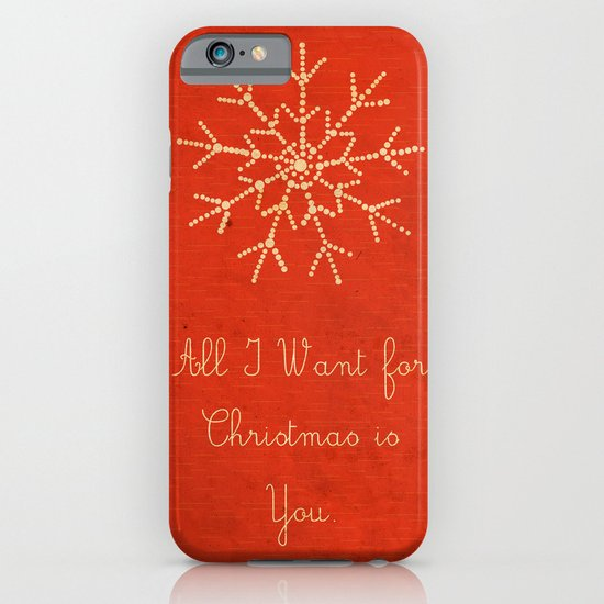 For Christmas! iPhone & iPod Case