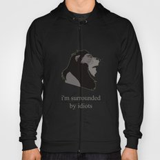 scar surrounded by idiots Hoody