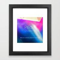 Pride Divisions Framed Art Print