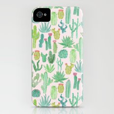 Cactus iPhone (4, 4s) Slim Case