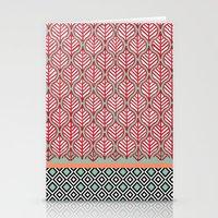 Native Patterns Stationery Cards