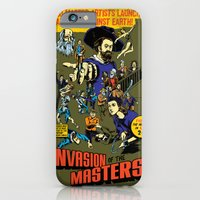 iPhone & iPod Case featuring Invasion of the Masters! by Joshua Kemble