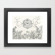Make Me See Framed Art Print