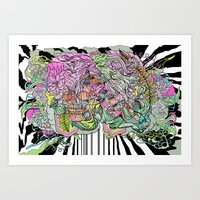 Lifetime of Goodbye Art Print