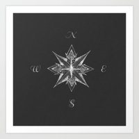 Compass II Art Print