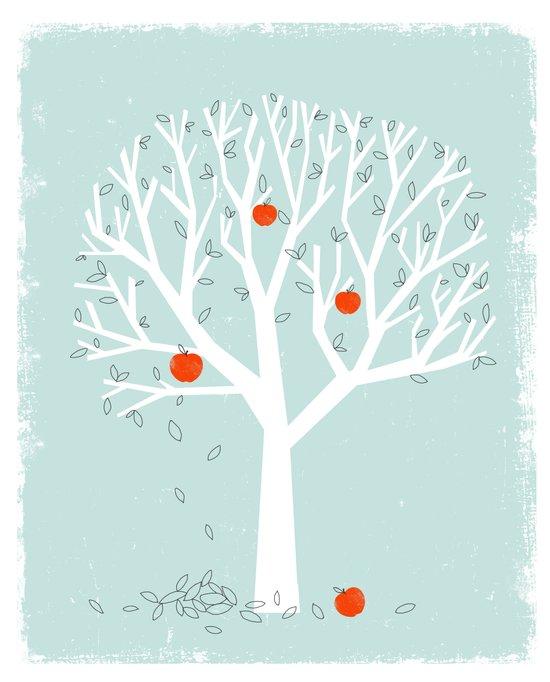 Apple Season Art Print