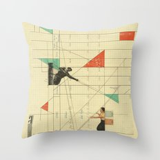 Pull the Strings Throw Pillow