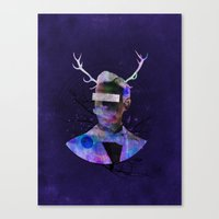 We Are All Flesh And Bon… Canvas Print