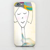 iPhone & iPod Case featuring She was known for her interesting hats. by Cynthia