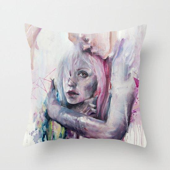 thought in metastasis Throw Pillow