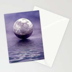 Under A FullMoon  Stationery Cards