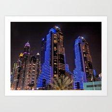 Grosvenor House in Dubai Art Print