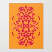 Creamsicle - Pink Canvas Print