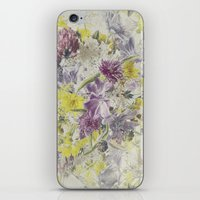 Soft Vintage Floral  iPhone & iPod Skin