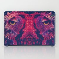 Face To Face, Owl To Owl iPad Case