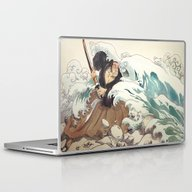 Tsunami Laptop & iPad Skin