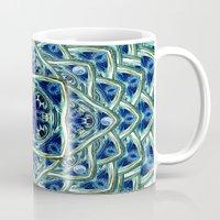 Blue & Green Yin Yang Mug