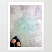 Velvet And Chains Art Print